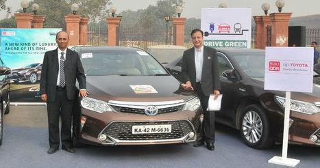 Toyota Joins Drive to Promote Greener Cars in India | Magazine | Scoop.it