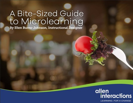 [eBook] A bite-sized guide to Microlearning | Edumorfosis.it | Scoop.it