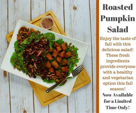 Roasted Pumpkin Salad | Monthly Special Box Lunch| Ingallina's Box Lunch Seattle | Box lunch | Scoop.it