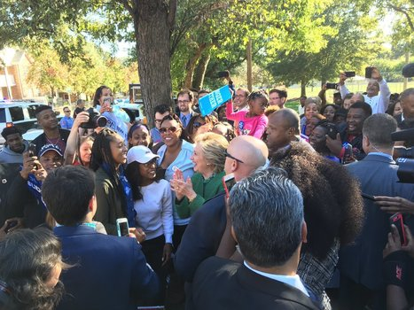 Hillary campaigns at early voting location - in violation of NC law? - The American Mirror | THE MEGAPHONE | Scoop.it