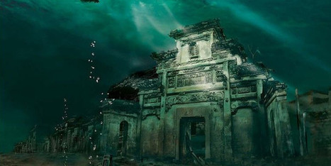 LOOK: 12 Spectacular Shots Of China's Bizarre Underwater City | De la hierba y otros demonios | Scoop.it