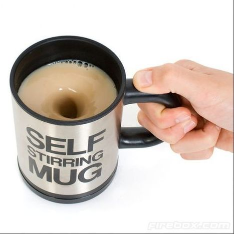 Self Stirring Mug | Technology, Gadgets & Gizmos | Scoop.it