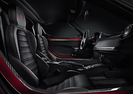 Alfa Romeo shares tasty new 4C sports car pics including interior | Italia Mia | Scoop.it