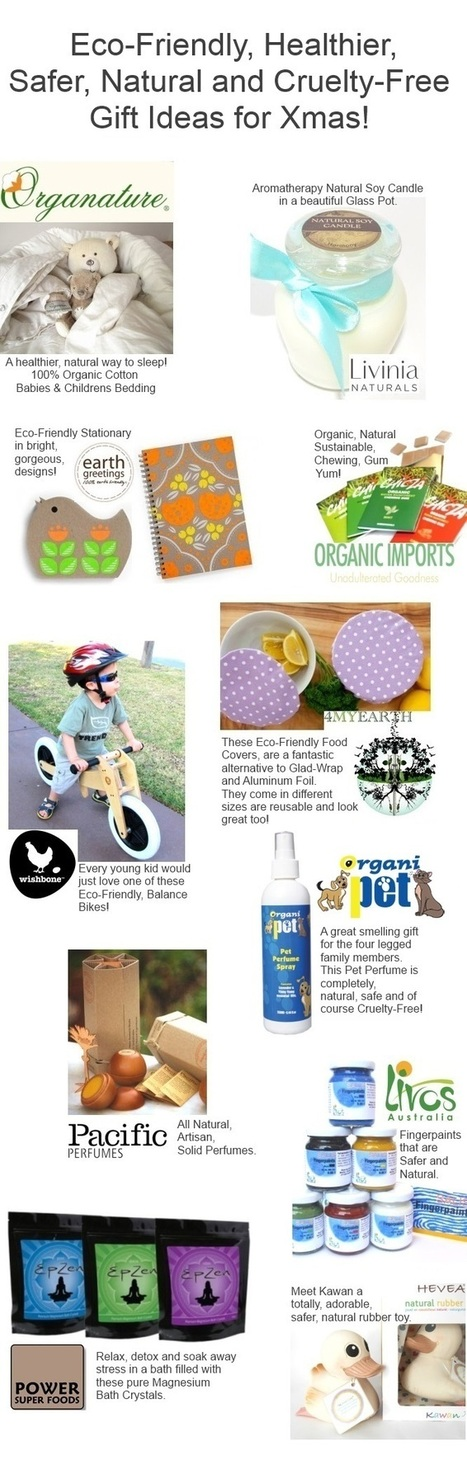 Eco-Friendly, Natural, Safer and Cruelty-Free Xmas Gift Ideas | Vegan Top 10 | Scoop.it