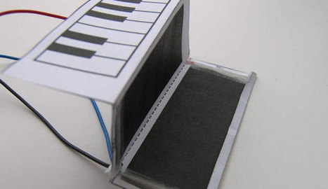 Un clavier en papier pour Noël | Gazette du numérique | Scoop.it