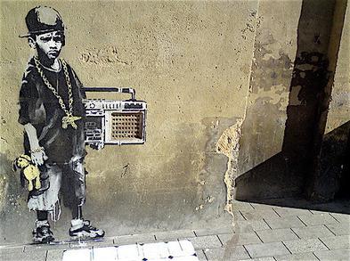 Art: An analysis of Banksy | The Find Magazine | Banksy - Street Artist | Scoop.it