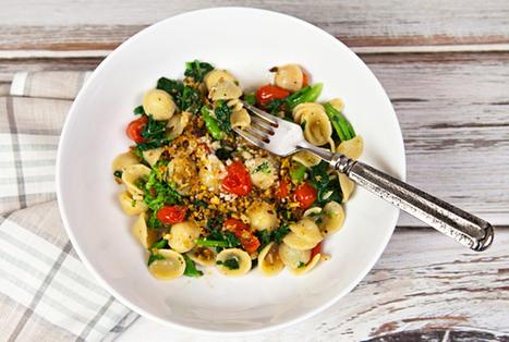 Italian Food Forever » Orecchiette With Broccoli Rabe, Tomatoes, & Anchovy Breadcrumbs | La Cucina Italiana - De Italiaanse Keuken - The Italian Kitchen | Scoop.it
