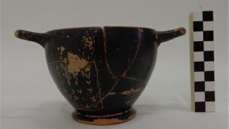 Grèce : une coupe à vin, ayant appartenu à Périclès, découverte à ... - i tele | Ma Cave En France | Scoop.it