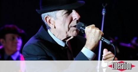 «Au revoir mon amour éternel»: les derniers mots de Leonard Cohen à sa muse - Libération | Bruce Springsteen | Scoop.it