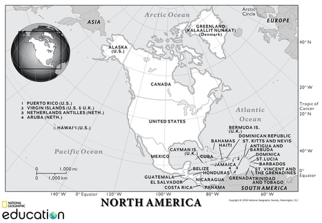 North America: Human Geography | Reese Geo 152 | Scoop.it