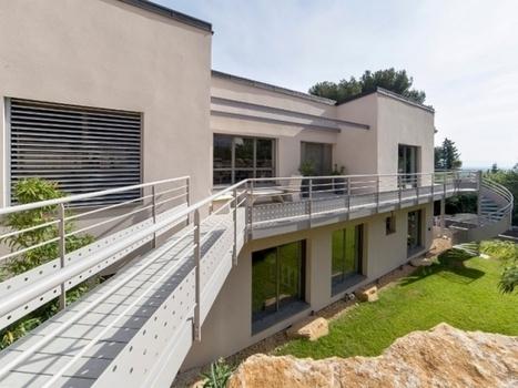 [inspiration] Une maison passive érigée dans la roche avignonnaise | Architecture Passive et Positive | Scoop.it