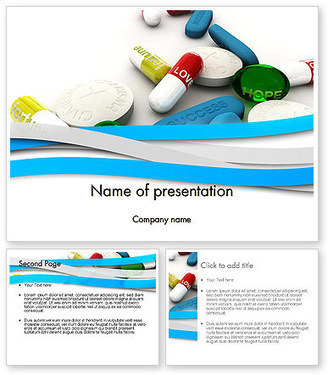 Pills for Everything PowerPoint Template | PowerPoint Presentations and Templates | Scoop.it