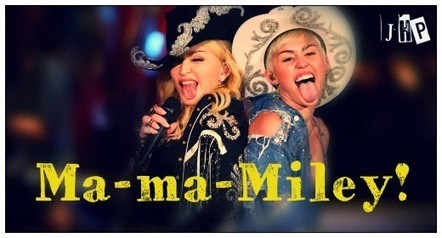 """Miley Cyrus ft Madonna - """"Don't Tell Me / We Can't Stop"""" MTV UNPLUGGED - JHP by Jimi Paradise™   JIMIPARADISE!   Scoop.it"""