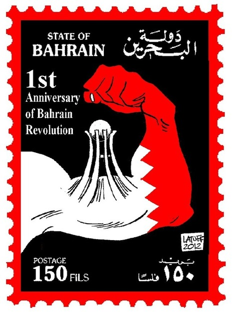 3 Cartoons of Carlos Latuff! |  Feb 14th in Bahrain! | Human Rights and the Will to be free | Scoop.it
