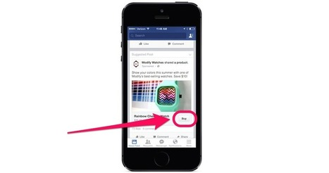 Facebook Now Lets You Buy Things Straight From Your News Feed | Design, Photography & Social Media | Scoop.it