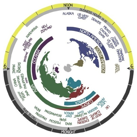 Visualizing Time and Space | Human Geography is Everything! | Scoop.it