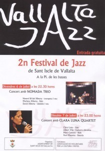 Torna el Vallalta Jazz | | Actualitat Jazz | Scoop.it