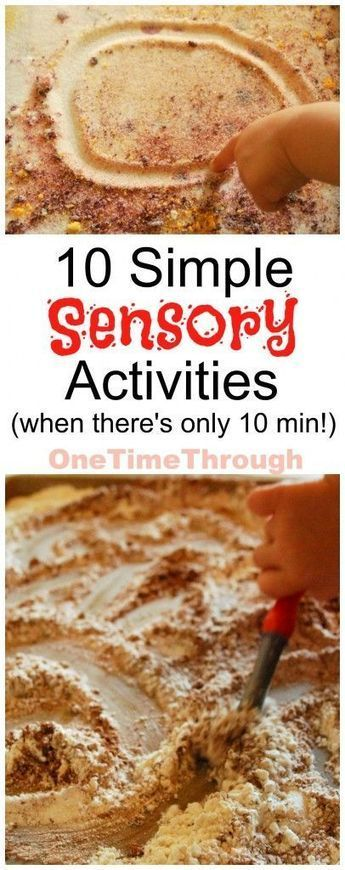 Simple Sensory Activities: When You Only Have 10 Min | Sensory Activities | Scoop.it
