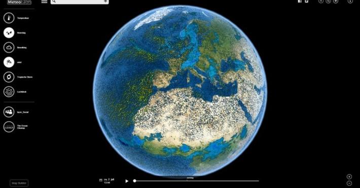 Edu-Curator: MeteoEarth: Bekijk het weer op de aarde in real time | Edu-Curator | Scoop.it