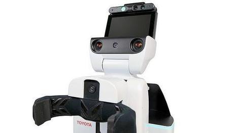 Toyota, a punto de lanzar un robot que cuida a personas dependientes | Sanidad TIC | Scoop.it