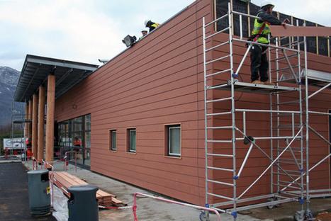 Moins de dioxyde de carbone avec une façade bois | Ageka les matériaux pour la construction bois. | Scoop.it