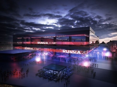 2018 FIFA World Cup Stadium Winning Proposal / Wilmotte ... | Formación, Certificación y Herramientas PMP | Scoop.it
