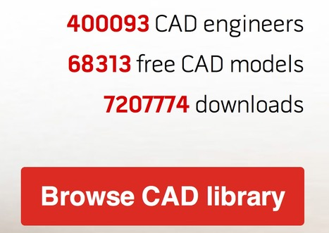 Is the age of really useful CAD libraries finally here? | Made Different | Scoop.it