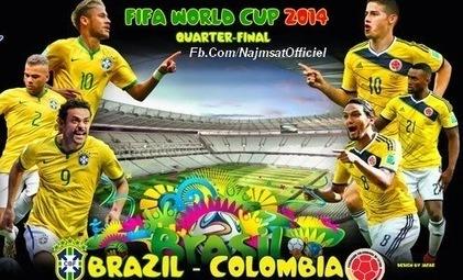 George's Epic Adventures: Prediksi Skor Brazil vs Colombia Piala Dunia 2014   Piala Dunia 2014❕❕❕   Scoop.it