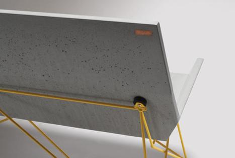 Outdoor Concrete Seating by Hard Goods - Design Milk | Bring back UK Design & Technology | Scoop.it