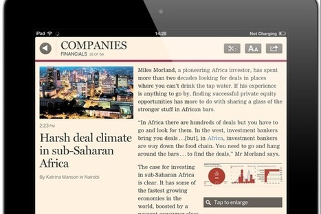 "Financial Times: ""Our print product will derive from the web offering — not vice versa"" 