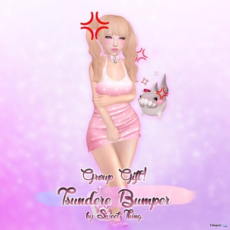 Tsundere Bumper Group Gift by Sweet Thing | Teleport Hub - Second Life Freebies | Second Life Freebies | Scoop.it