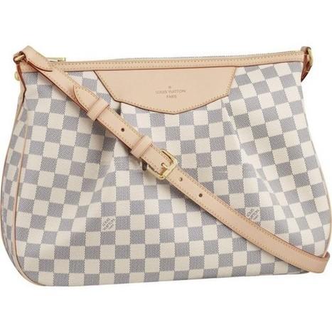 Louis Vuitton Outlet Siracusa MM Damier Azur Canvas N41112 For Sale,70% Off | Authentic Louis Vuitton Handbags_lvbagsatusa.com | Scoop.it