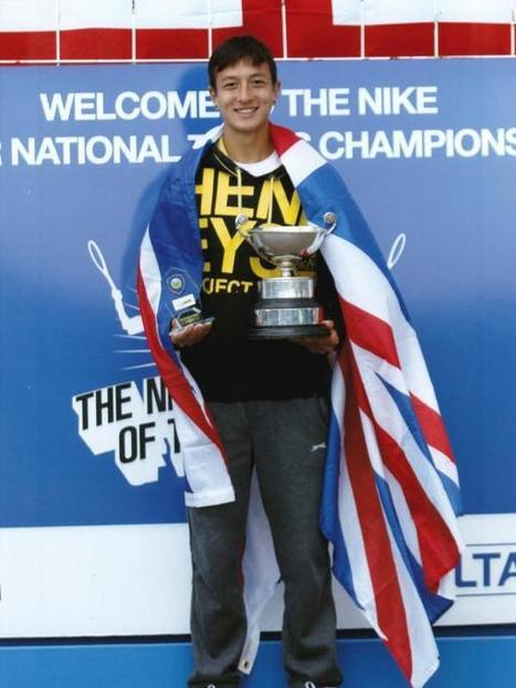 Ryan Peniston's national tennis titles ease pain - Echo | University of Memphis men's tennis | Scoop.it