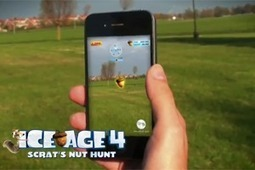 #IceAge 4 - Scrat's Nut Hunt #game powered by #Wikitude | Augmented Reality Games in Tourism | Scoop.it