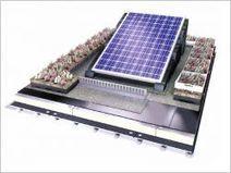 Une toiture verte qui associe photosynthèse et photovoltaïque   Economie de la Biodiversité   Scoop.it