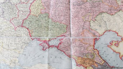 Ukraine maps chart Crimea's troubled past   Learning & Geography   Scoop.it