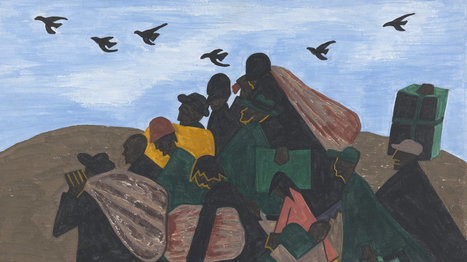 Painting The 'Epic Drama' Of The Great Migration | History and Social Studies Education | Scoop.it