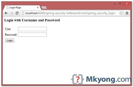 Spring MVC 3 Security | Arquitectura J2EE | Scoop.it