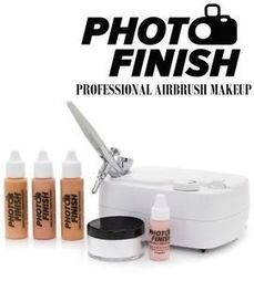 PHOTO FINISH PROFESSIONAL AIRBRUSH MAKEUP KIT- SYSTEM-Light -Medium or Tan | KC Makeup by Karuna Chani | Scoop.it
