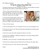Reading Comprehension Worksheets | Have Fun Teaching | Reading Comprehension-Critical reading | Scoop.it