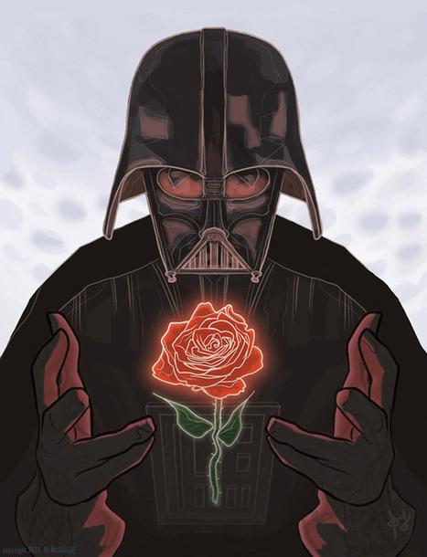 Tarjeta para San Valentín: Darth Vader | valentin | Scoop.it