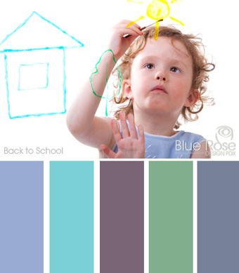 Color Inspiration: Back to School | Typography & Color Inspirations | Scoop.it