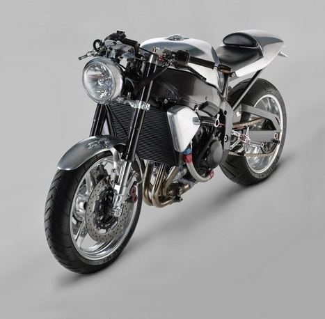 Yamaha R1 Cafe Racer - Grease n Gasoline | technology | Scoop.it