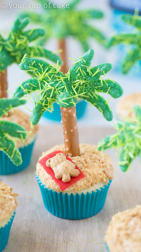 Palm Tree Cupcakes | Passion for Cooking | Scoop.it