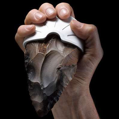Ami Drach and Dov Ganchrow recreate Stone Age tools with 3D-printed handles | @FoodMeditations Time | Scoop.it