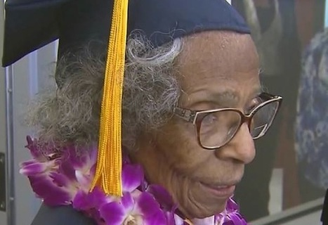 99-Year-Old Woman Achieves Dream of Getting College Degree Before Age 100 | EDUCuestionadores - Historias del día | Scoop.it