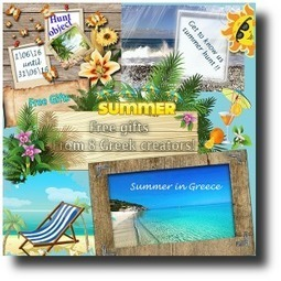 Get to know us summer hunt: Summer in Greece | 亗 Second Life Freebies Addiction & More 亗 | Scoop.it