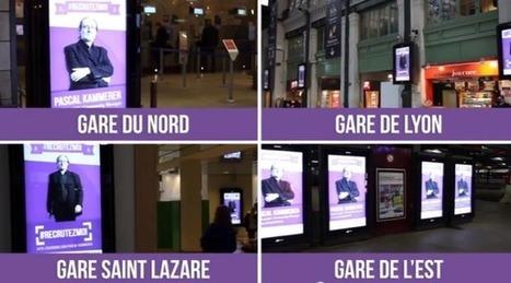 Monster évènementialise les candidatures de ses abonnés avec son opération #RecrutezMoi | streetmarketing | Scoop.it