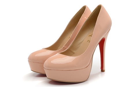 Christian Louboutin Bianca 140MM High Heels Red Sole In Nude | Chaussures tendances ! | Scoop.it