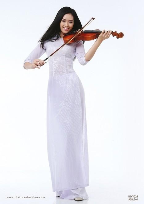 Ấn tượng thời trang cùng áo dài nữ sinh Lencii 2014 | vantai123.com | Scoop.it
